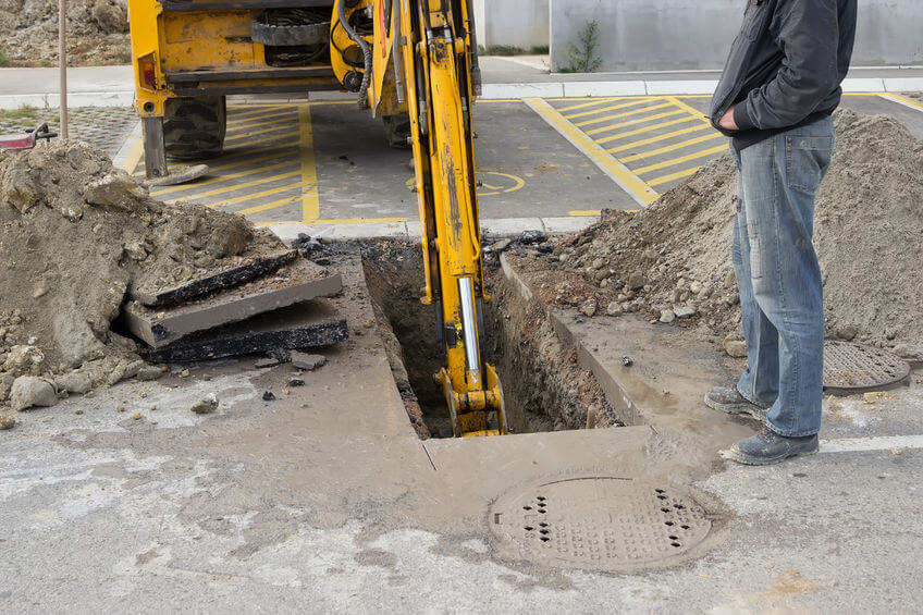 Volkman Plumbing, Heating, and Air Conditioning Air Conditioning Collapsed Sewer Line Replacement